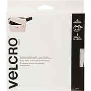 "VELCRO(R) Brand Industrial Strength Low Profile Tape 1""X10'-Black"
