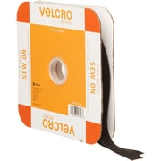 "VELCRO(R) Brand Sew-On Soft & Flexible Tape 5/8""X30'-Black"