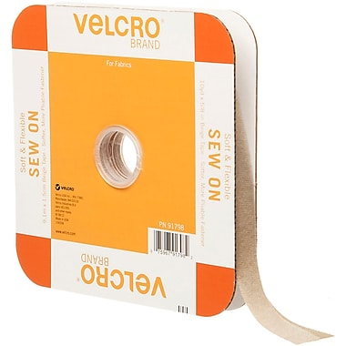 VELCRO(R) Brand Sew-On Soft & Flexible Tape 5/8