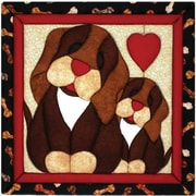 "Puppy Love Quilt Magic Kit-12""X12"""
