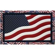 "American Flag Quilt Magic Kit-12""X19"""