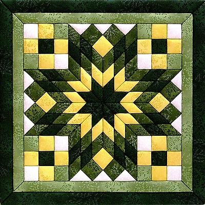 Diamond Star Quilt Magic Kit-12