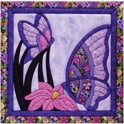 """Butterfly Quilt Magic Kit-15.5""""X15.5"""""""