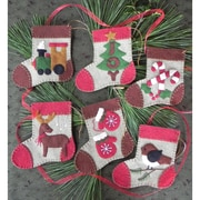 "Warm Feet Ornament Kit 6/Pkg-4""X4.5"""