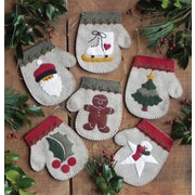 "Warm Hands Ornament Kit 6/Pkg-4""X4.5"""