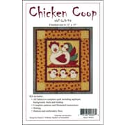 "Chicken Coop Wall Quilt Kit-13""X15"""