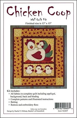 Chicken Coop Wall Quilt Kit-13