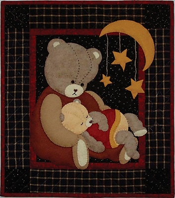 Baby Bear Wall Quilt Kit-13