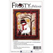 "Frosty & Friend Wall Quilt Kit-13""X15"""