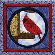 """Cardinal Quilt Magic Kit-12""""X12"""""""