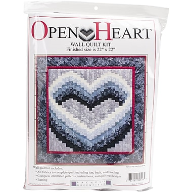 Open Heart Wall Quilt Kit-22