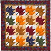 "Leaves Wall Quilt Kit-22""X22"""