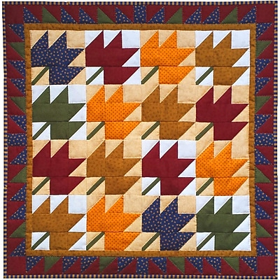 Leaves Wall Quilt Kit-22