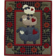 "Wooly Sheep Wall Quilt Kit-13""X15"""