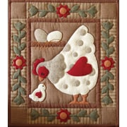 "Spotty Hen Wall Quilt Kit-13""X15"""