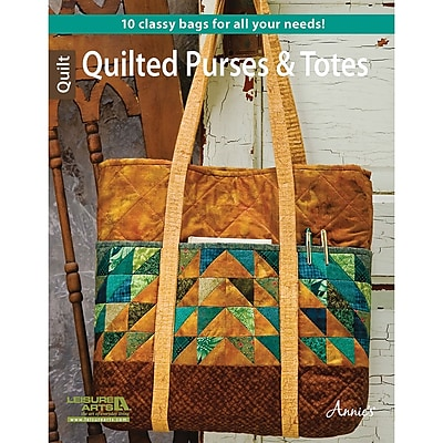 Leisure Arts-Quilted Purses & Totes