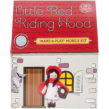The Crafty Kit Co. Sewing Kit-Fairy Tale Mobile-Little Red Riding Hood