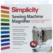 Sewing Machine Magnifier-White & Red