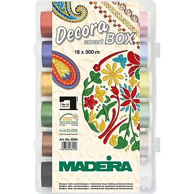 Madeira Decora No.12 Thread Sampler 18/Pkg-