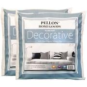 """Decorative Pillow Insert Twin Pack-18""""X18"""" FOB: MI"""