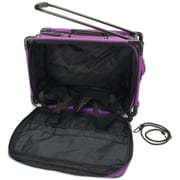 "TUTTO Machine On Wheels Case-20""X13""X9"" Purple"