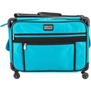 "TUTTO Machine On Wheels Case-20""X13""X9"" Turquoise"