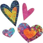 GO! Fabric Cutting Dies-Queen Of Hearts 4 Sizes