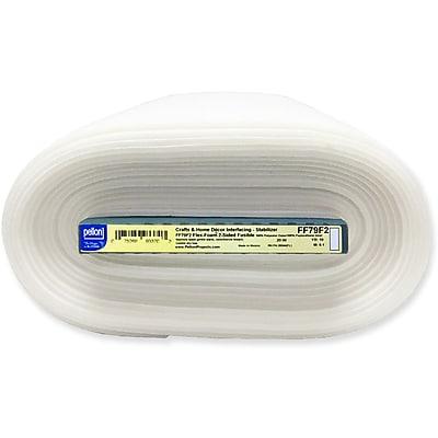 Flex-Foam 2-Sided Fusible Stabilizer-White 20
