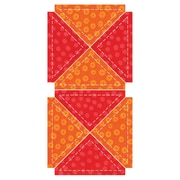 "GO! Fabric Cutting Dies-Quarter Square - 3"" Finished Triangle"