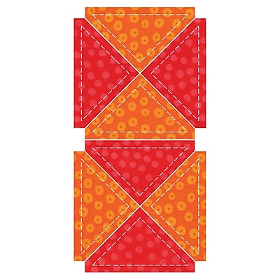 GO! Fabric Cutting Dies-Quarter Square - 3