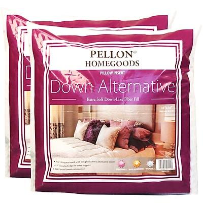 Down Alternative Pillow Insert Twin Pack-16