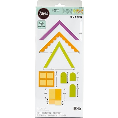 Sizzix Bigz Dies Fabi Edition-XL Die - Village Buildings By E.L.Smith