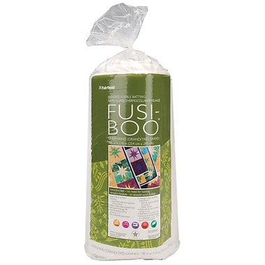 Fusi-Boo Bamboo Fusible Batting -Queen/King Size 100