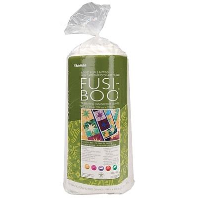 Fusi-Boo Bamboo Fusible Batting -Queen/King Size 100