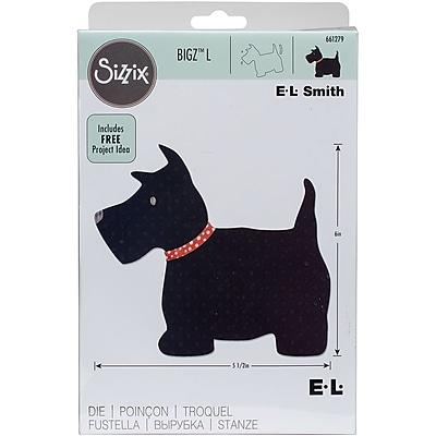 Sizzix Bigz Dies Fabi Edition-Scottie Dog By E.L. Smith