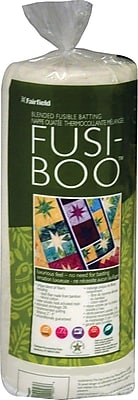 Fusi-Boo Bamboo Fusible Batting -36