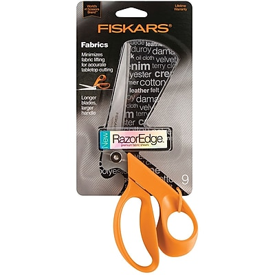 Fiskars RazorEdge Tabletop Fabric Shears 9