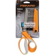 "Fiskars RazorEdge Softgrip Fabric Scissors 9""-"