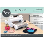 Sizzix Big Shot Fabric Series Starter Kit-White & Gray