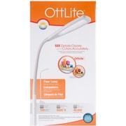 OttLite LED Flex Floor Lamp-White FOB: MI