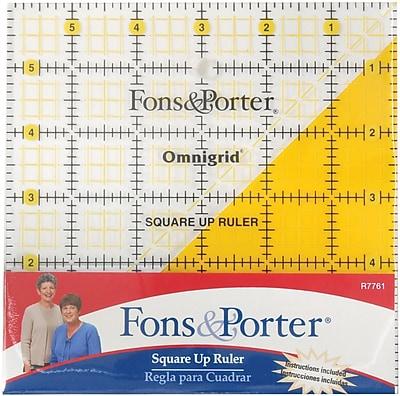 Fons & Porter Square Up Ruler -6