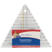 """Fons & Porter Pyramid Ruler-1"""" To 6"""""""
