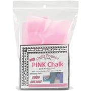 Quilt Pounce Pad W/Chalk Powder-4oz Pink