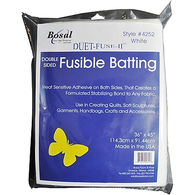 Duet-Fuse-II Double-Sided Fusible Batting-36