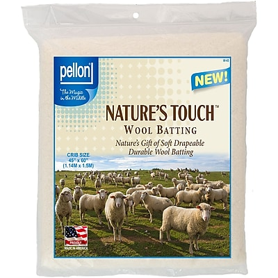 Pellon Wool Batting-Crib Size 45