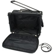 "TUTTO Machine On Wheels Case-20""X13""X9"" Black"