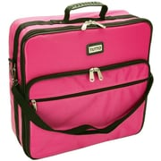 """TUTTO Embroidery Bag-19""""X17""""X6"""" Pink"""