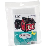 Craf-Tex Double Sided Fusible Plus-House 14/Pkg