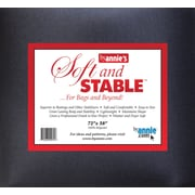 "ByAnnie's Soft & Stable-Black 72""X58"""