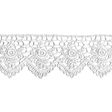 Scalloped Rose Venice Lace 1-1/2